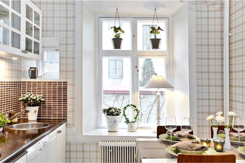 Дизайн кухни 5.8 кв м