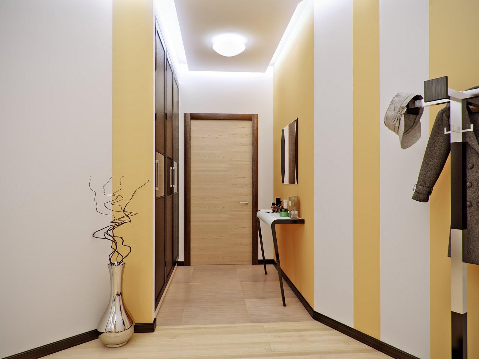 Отделка коридора в квартире фото