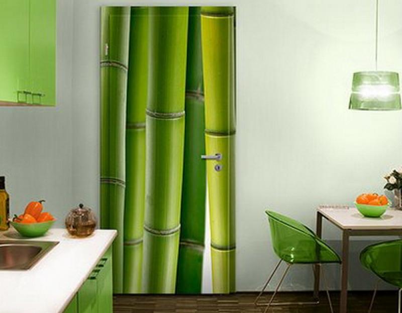 Bamboo wall design ideas
