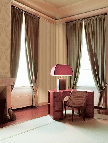 Обои Ornamenta Limonta – фото в интерьере кабинета