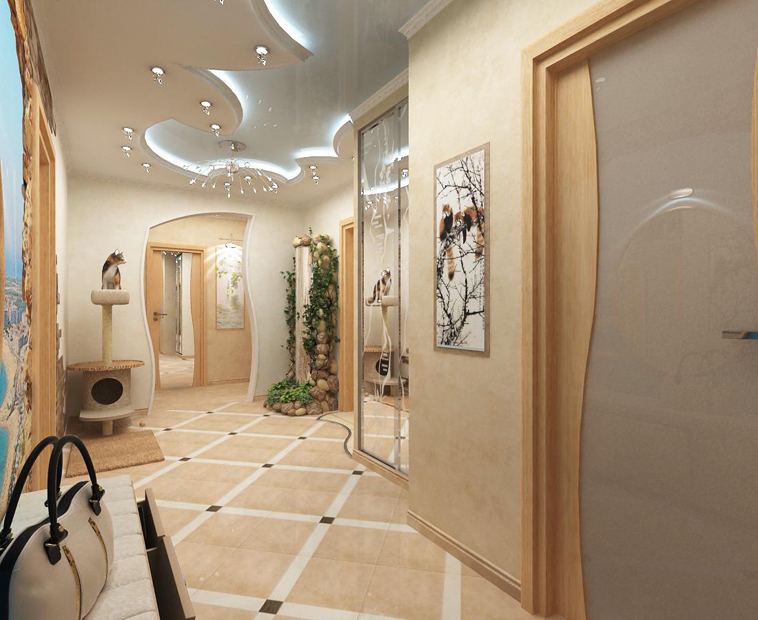 Дизайн холла в квартире фото