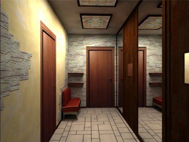 Ремонт в коридоре своими руками идеи фото