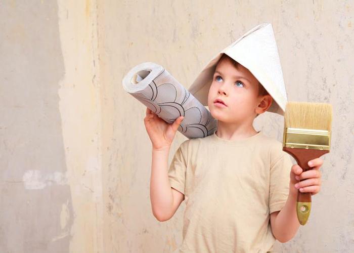 Выбор материала также зависит от помещения, в котором идет ремонт