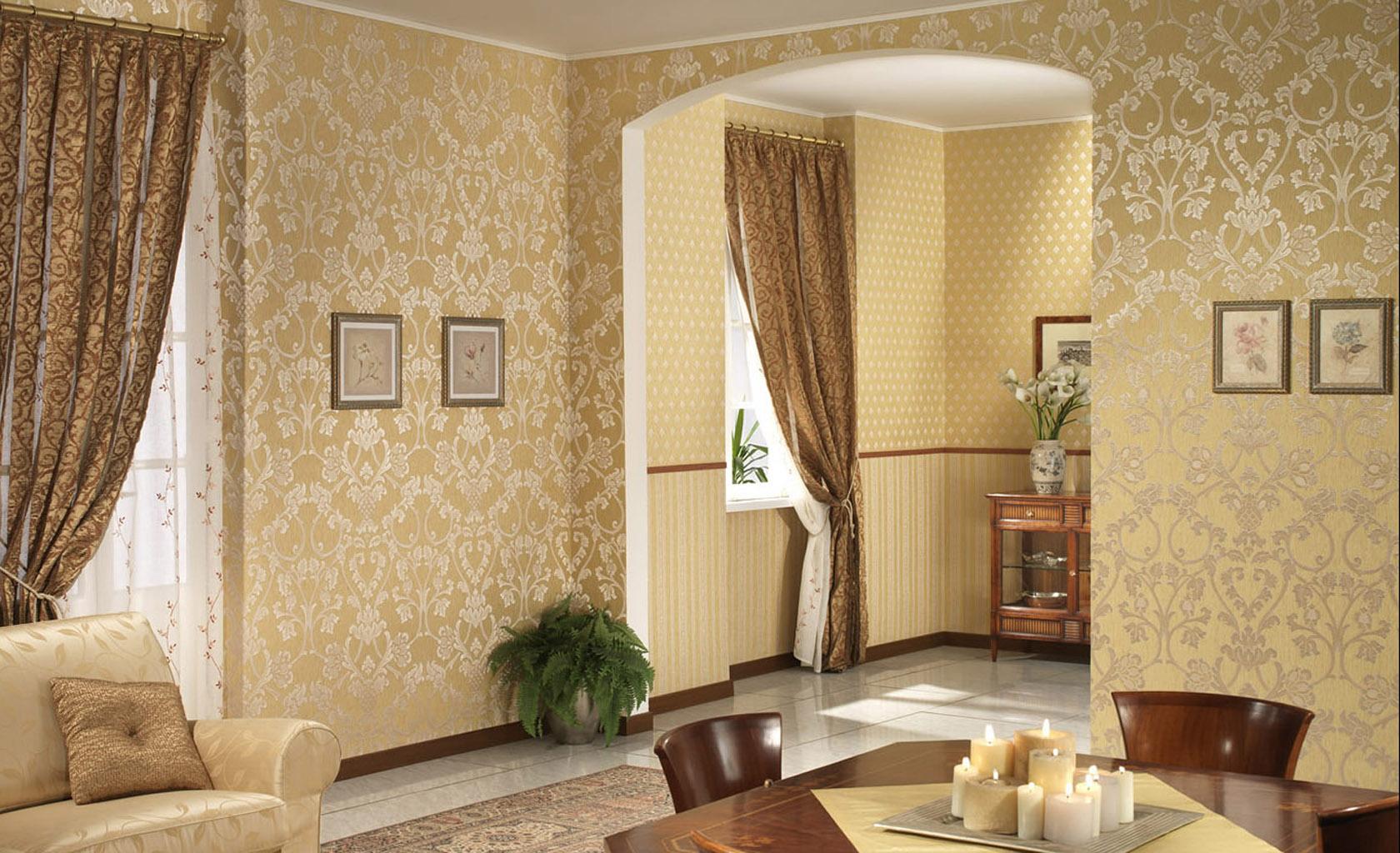 Подбор обоев для гостиной фото